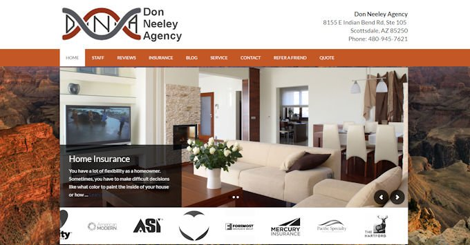 The new Don Neeley Agency Website